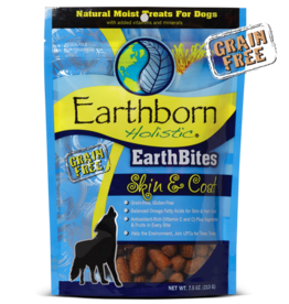 Earthborn by Midwestern Pet Earthborn Dog Treat EarthBites Skin and Coat 7.5 oz