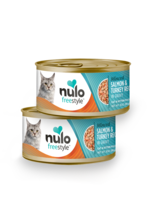 Nulo Nulo Freestyle Cat Can Minced Salmon and Turkey 3 oz