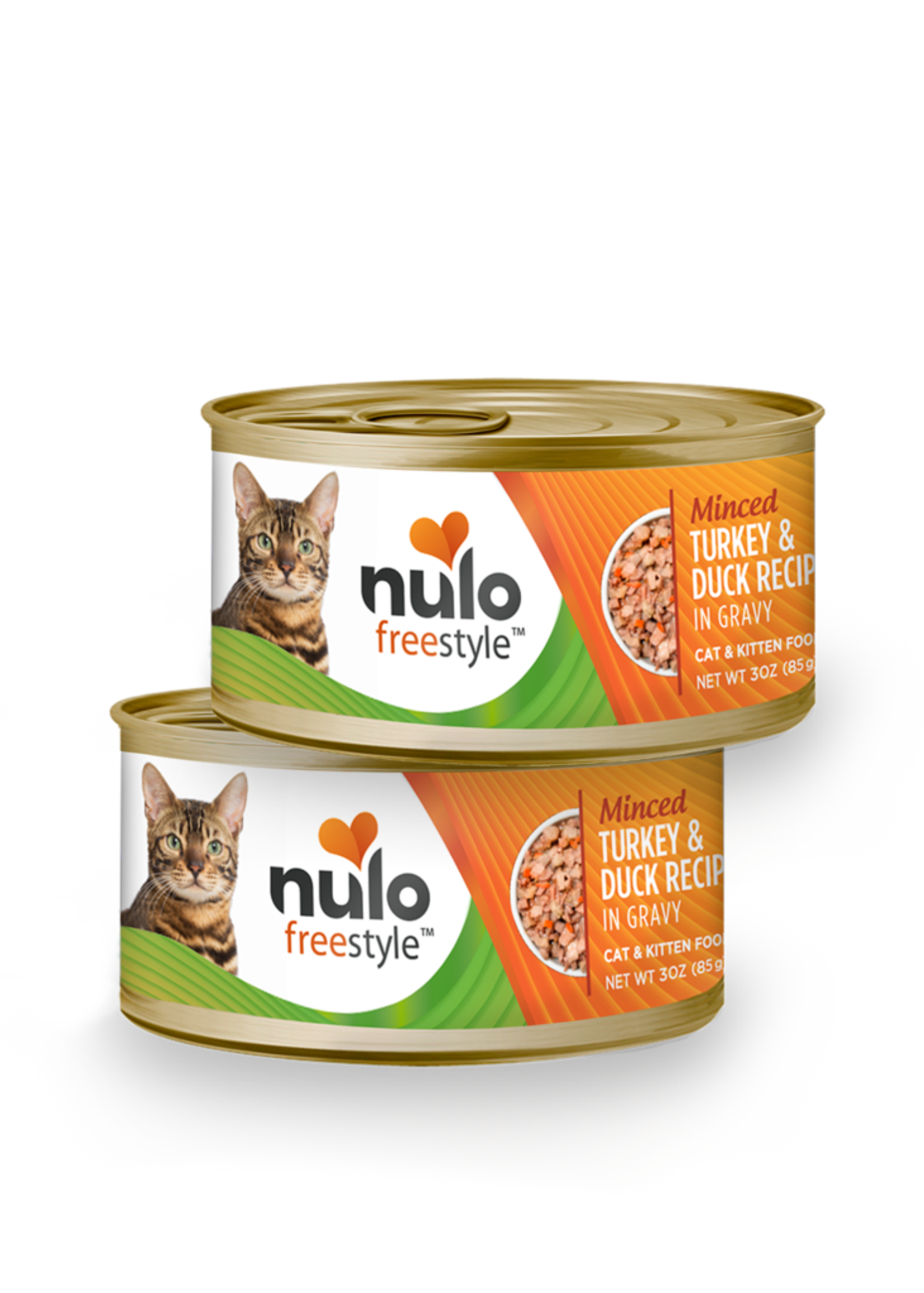 Nulo Nulo Freestyle Cat Can Minced Turkey and Duck 3 oz