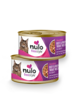 Nulo Nulo Freestyle Cat Can Shredded Beef and Rainbow Trout 3 oz