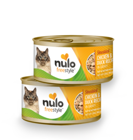 Nulo Nulo Freestyle Cat Can Shredded Chicken and Duck 3 oz