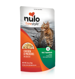 Nulo Nulo Freestyle Cat Pouch Chicken and Mackerel 2.8 oz