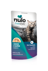 Nulo Nulo Freestyle Cat Pouch Chicken and Salmon 2.8 oz