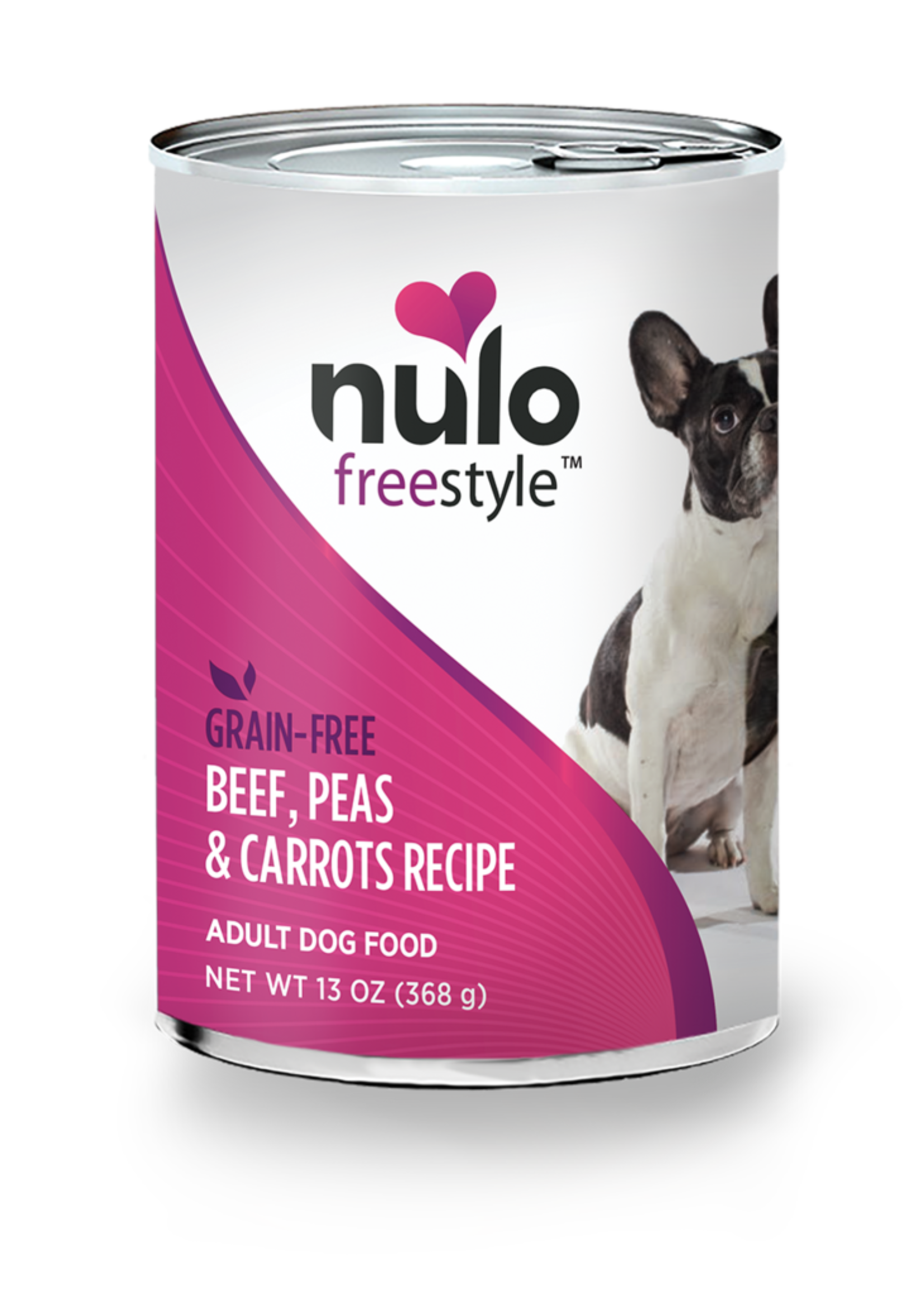 Nulo Nulo Freestyle Dog Can Adult Beef, Peas, and Carrots 13 oz