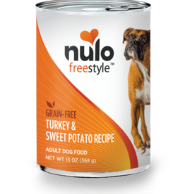 Nulo Nulo Freestyle Dog Can Adult Turkey and Sweet Potato 13 oz