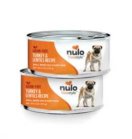 Nulo Nulo Freestyle Dog Can Small Breed Turkey and Lentil 6 oz