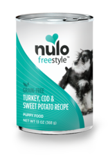 Nulo Nulo Freestyle Dog Can Puppy Turkey, Cod, and Sweet Potato 13 oz