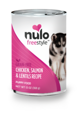Nulo Nulo Freestyle Dog Can Puppy Chicken, Salmon, and Lentils 13 oz