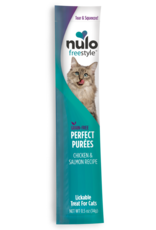 Nulo Nulo Freestyle Cat Treat Perfect Purees Chicken and Salmon 0.5 oz