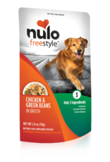 Nulo Nulo Freestyle Dog Pouch Chicken and Green Beans 2.8 oz