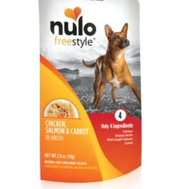 Nulo Nulo Freestyle Dog Pouch Chicken, Salmon, and Carrot 2.8 oz