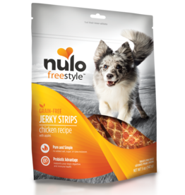 Nulo Nulo Freestyle Dog Treat Jerky Strips Chicken 5 oz