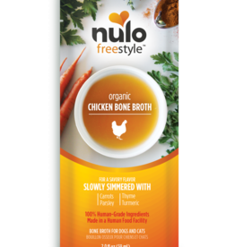 Nulo Nulo Freestyle Bone Broth Organic Chicken 2 oz