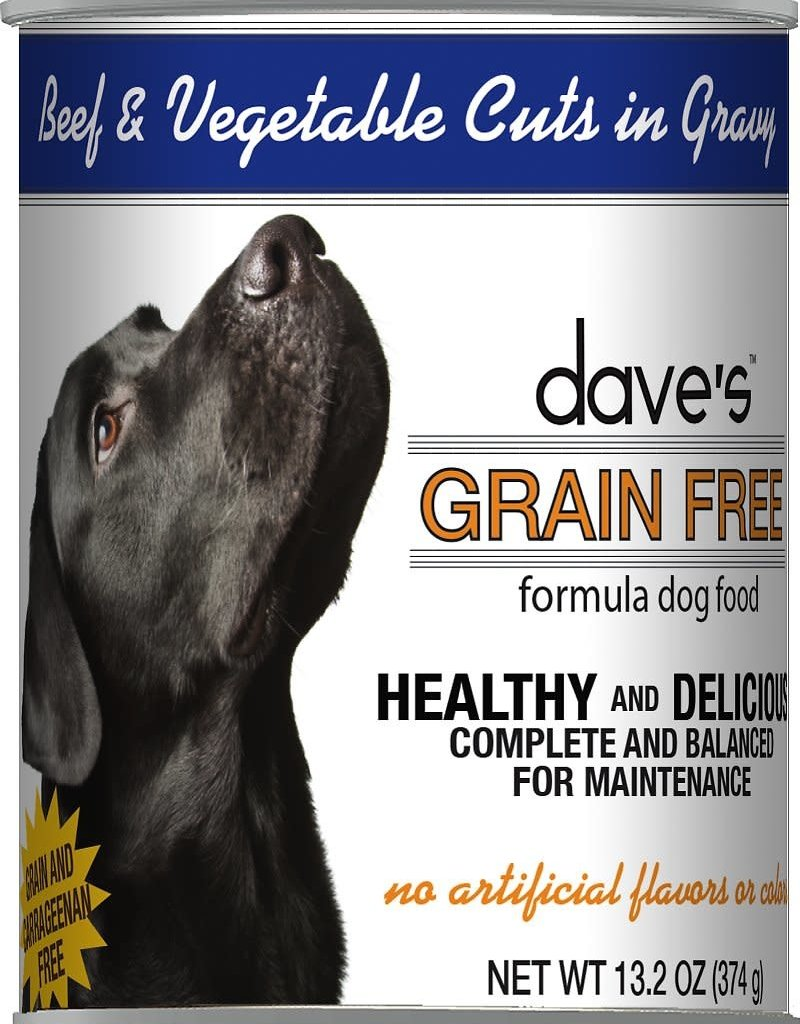 Dave's Pet Food Dave's Dog Can Healthy & Delicious Beef and Vegetable 13 oz