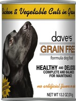 Dave's Pet Food Dave's Dog Can Healthy & Delicious Chicken and Vegetable 13 oz