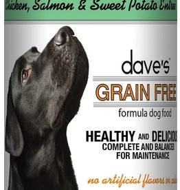 Dave's Pet Food Dave's Dog Can Healthy & Delicious Chicken, Salmon, and Sweet Potato 13 oz
