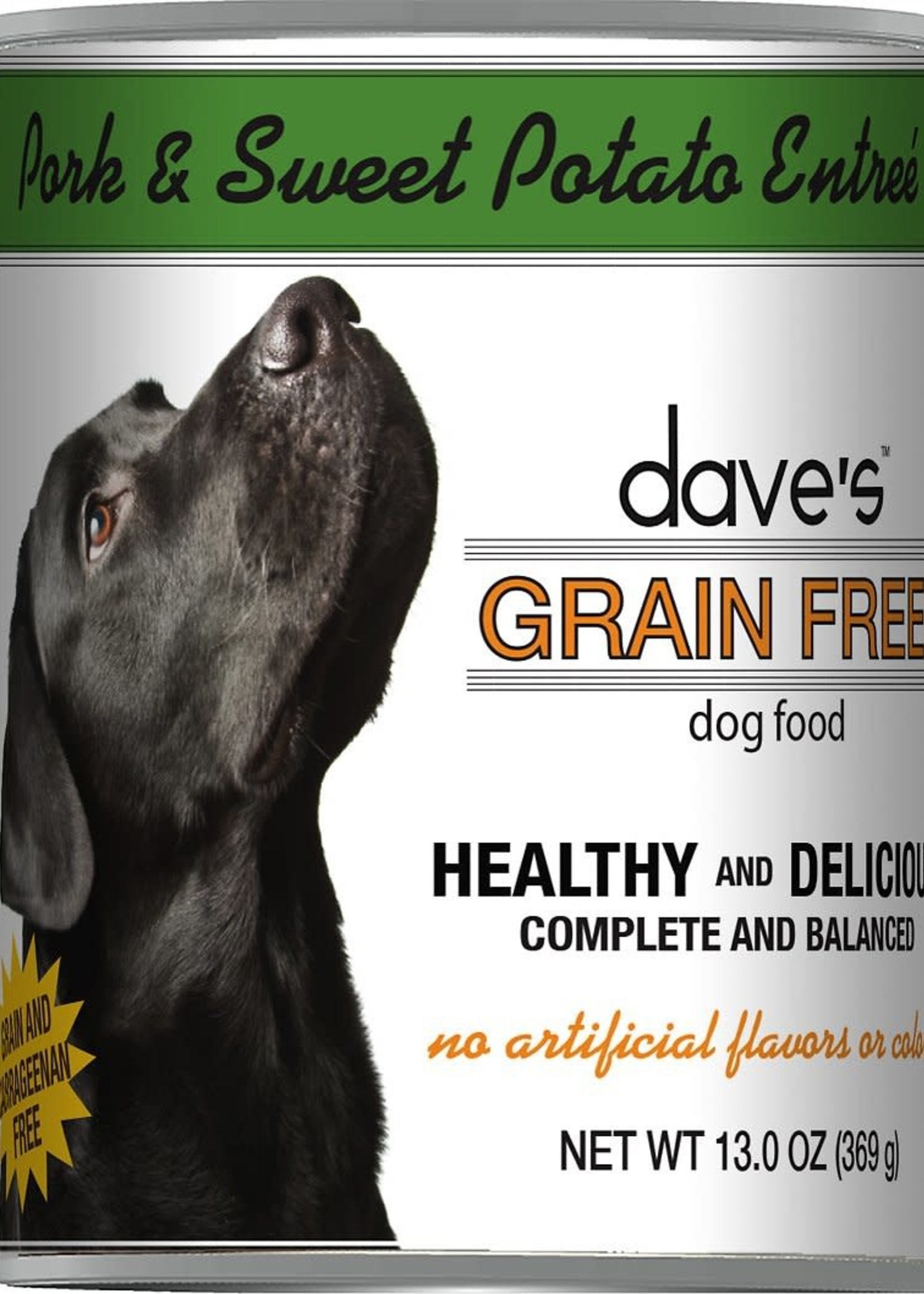 Dave's Pet Food Dave's Dog Can Healthy & Delicious Pork and Sweet Potato 13 oz