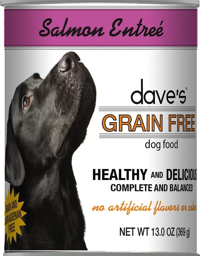 Dave's Pet Food Dave's Dog Can Healthy & Delicious Salmon 13 oz