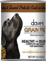 Dave's Pet Food Dave's Dog Can Healthy & Delicious Turkey and Sweet Potato 13 oz