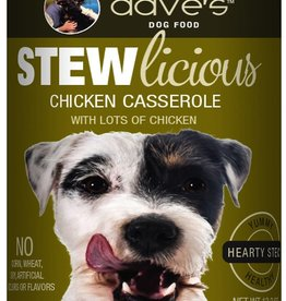 Dave's Pet Food Dave's Dog Can Stewlicious Chicken Casserole 13 oz