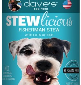 Dave's Pet Food Dave's Dog Can Stewlicious Fisherman 13 oz