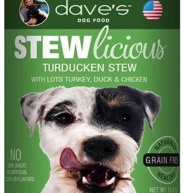 Dave's Pet Food Dave's Dog Can Stewlicious Turducken 13 oz