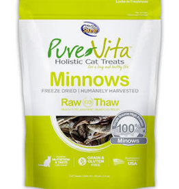 Tuffy's Pet Foods Inc./NutriSource PureVita Cat Treat Freeze Dried Minnows 0.5 oz
