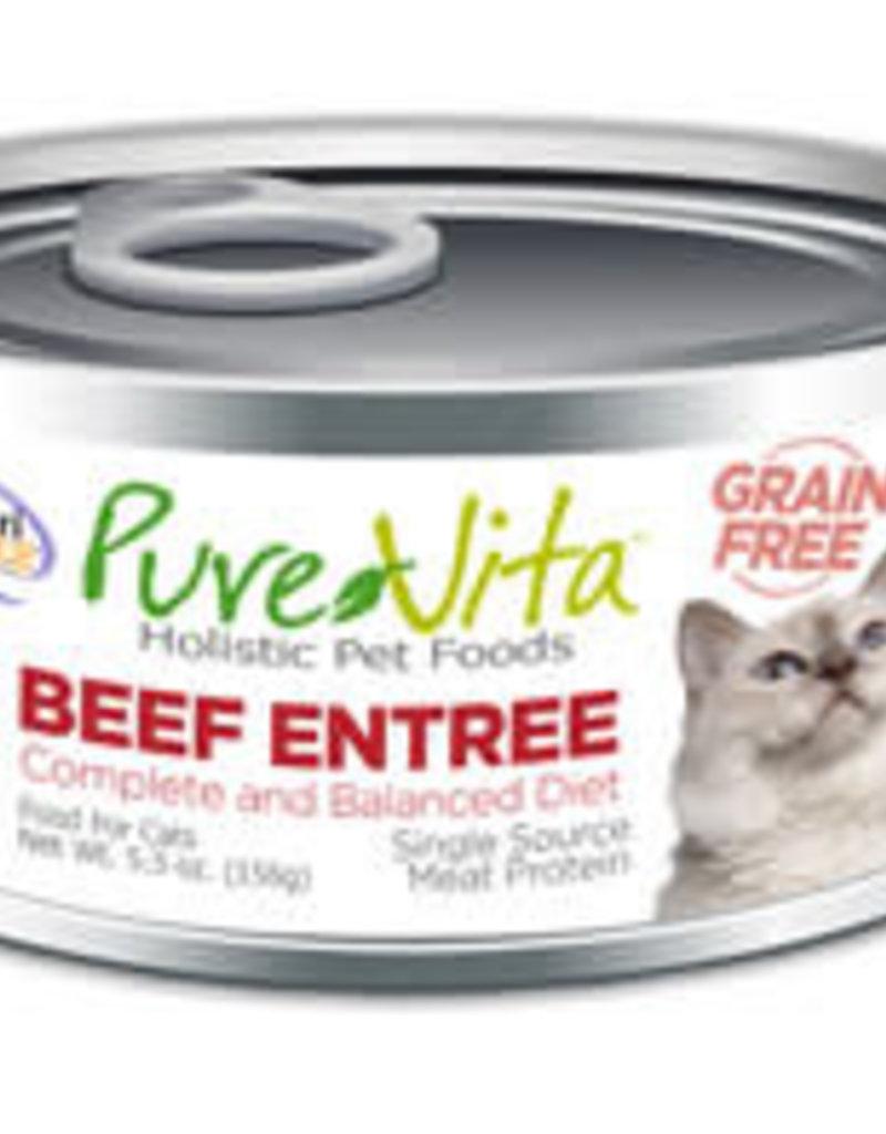 PureVita PureVita Cat Can 96% Beef 5.5 oz