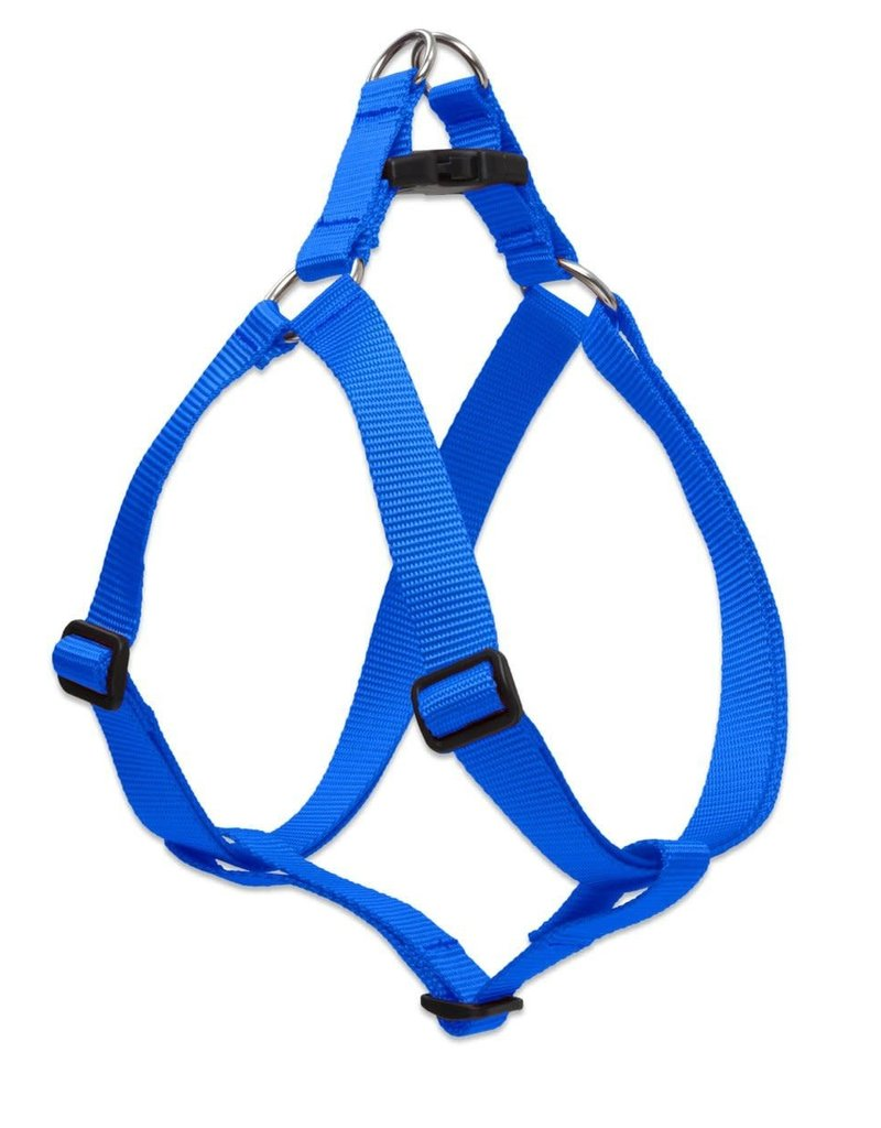 """LupinePet Lupine Blue Step in Harness 1"""" x 19""""-28"""""""