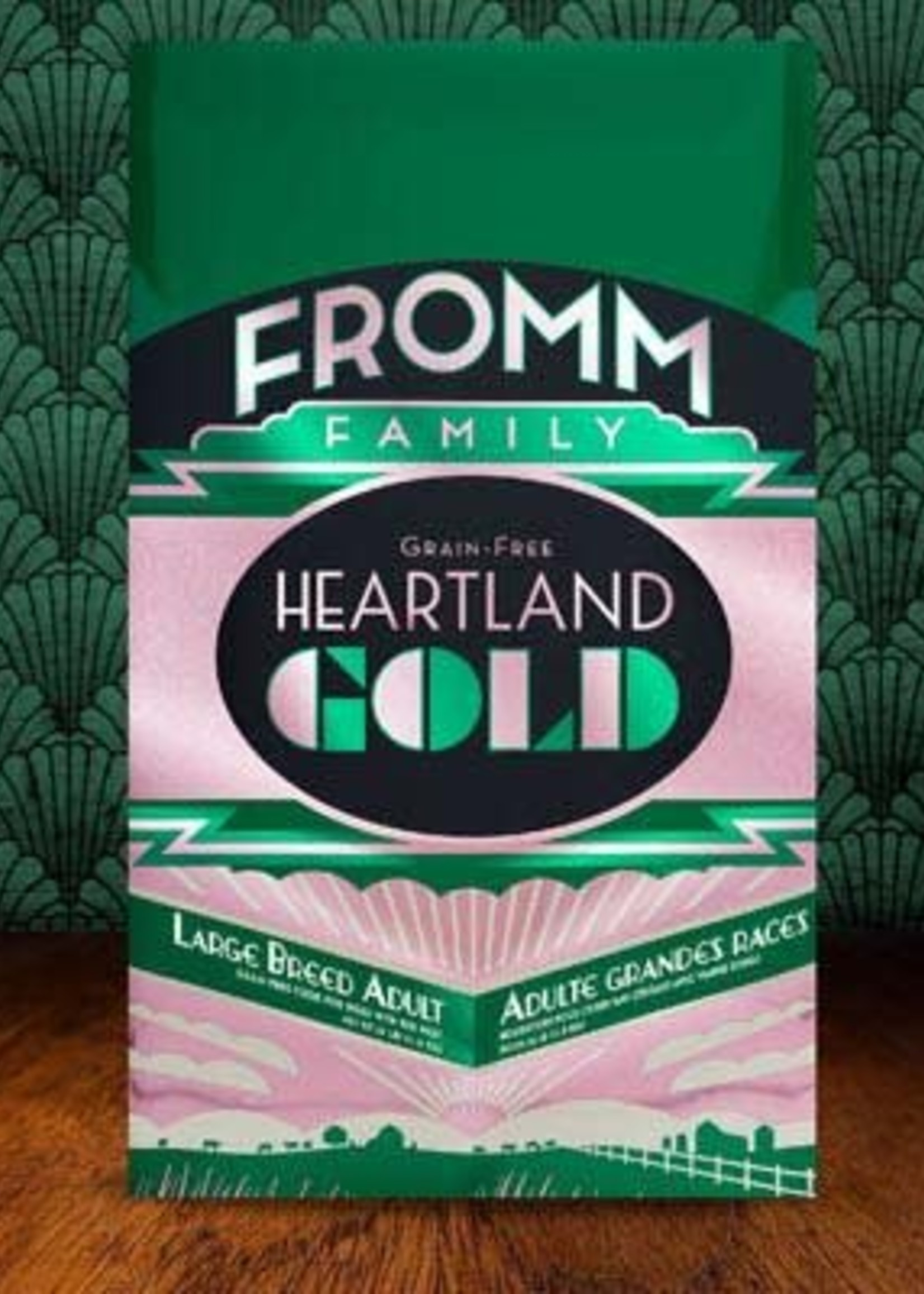 Fromm Family Foods, LLC Fromm Dog Dry Heartland Gold Large Breed Adult