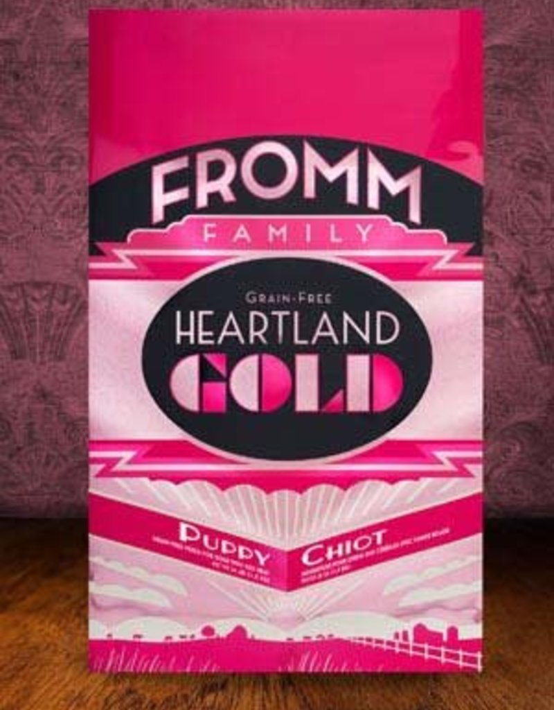 Fromm Family Foods, LLC Fromm Dog Dry Heartland Gold Puppy