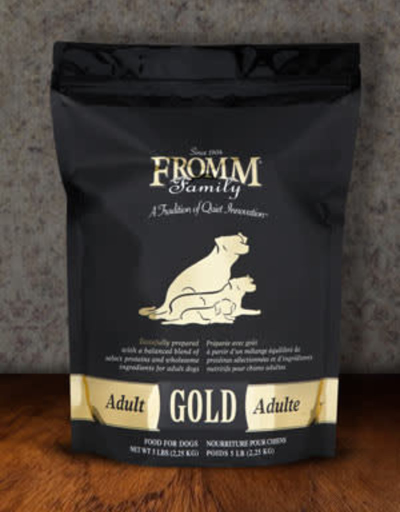 Fromm Family Foods, LLC Fromm Dog Dry Gold Adult