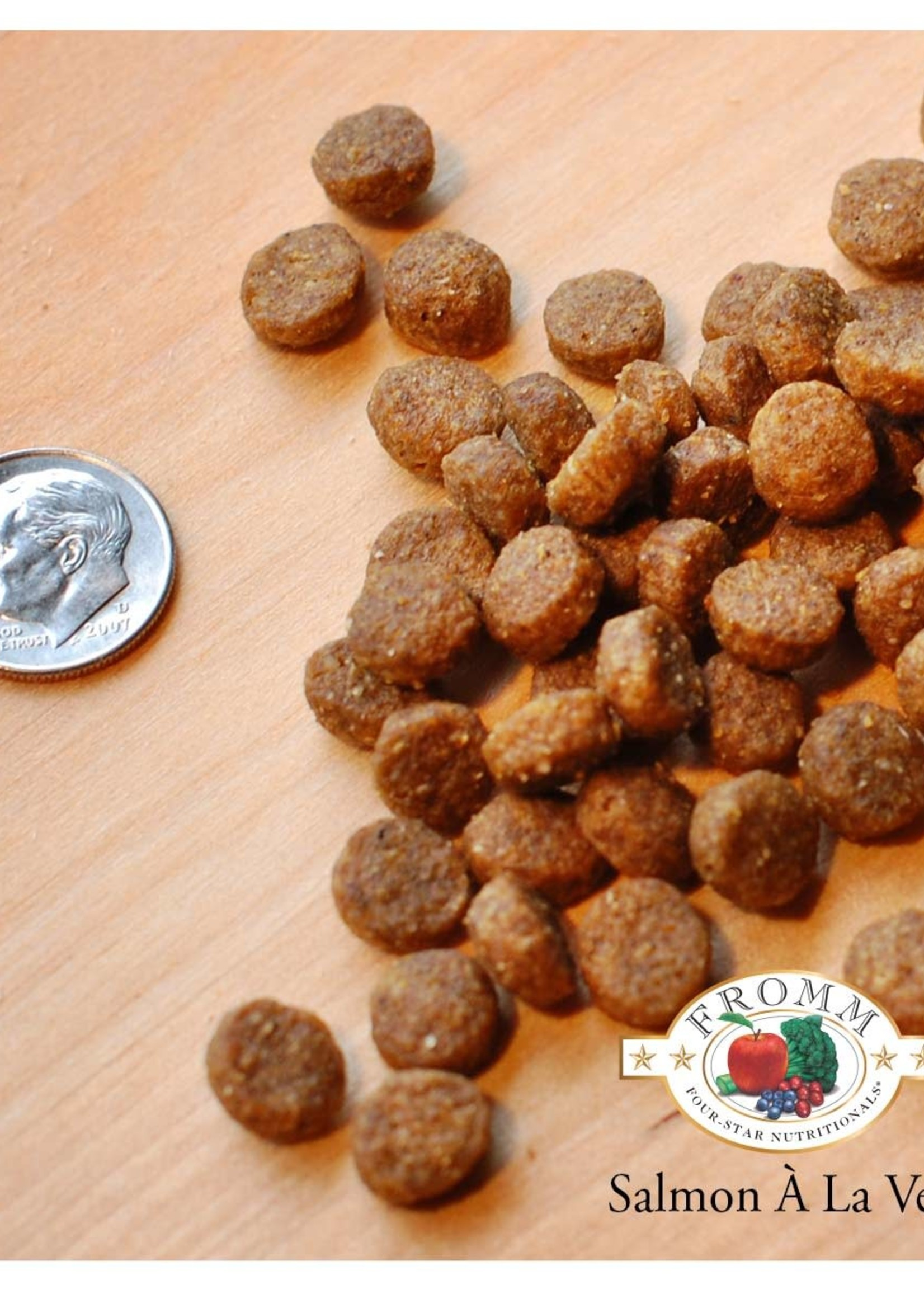 Fromm Family Foods, LLC Fromm Dog Dry 4 Star Salmon a la Veg