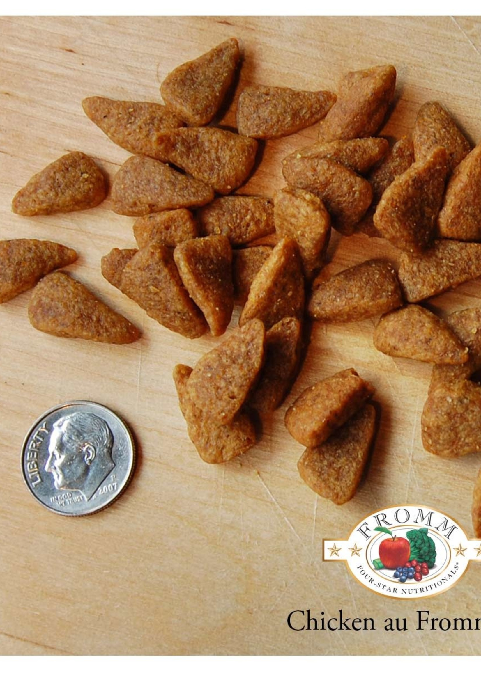 Fromm Family Foods, LLC Fromm Dog Dry 4 Star Chicken au Frommage