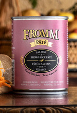 Fromm Family Foods, LLC Fromm Dog Can Pate Whole Grain Salmon and Brown Rice 12 oz