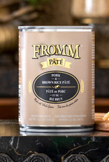 Fromm Family Foods, LLC Fromm Dog Can Pate Whole Grain Pork and Brown Rice 12 oz