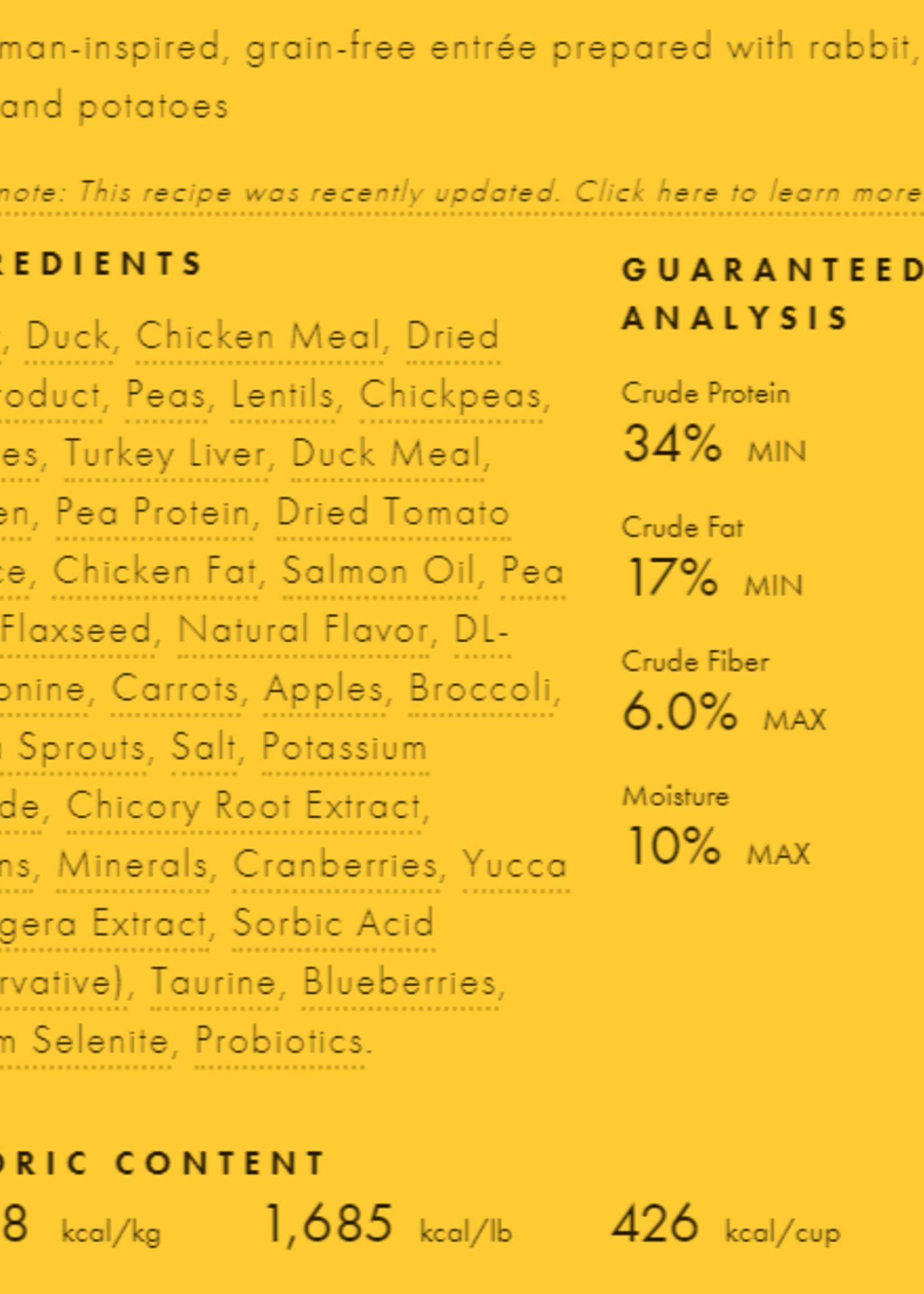 Fromm Family Foods, LLC Fromm Cat Dry 4 Star GF Hasen Duckenpfeffer