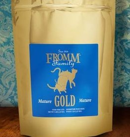 Fromm Family Foods, LLC Fromm Cat Dry Gold Mature