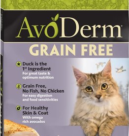 AvoDerm by Breeder's Choice AvoDerm Cat Dry GF Duck with Turkey