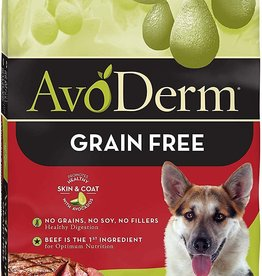 Breeder's Choice Pet Foods, Inc. AvoDerm Dog Dry GF Beef and Vegetables