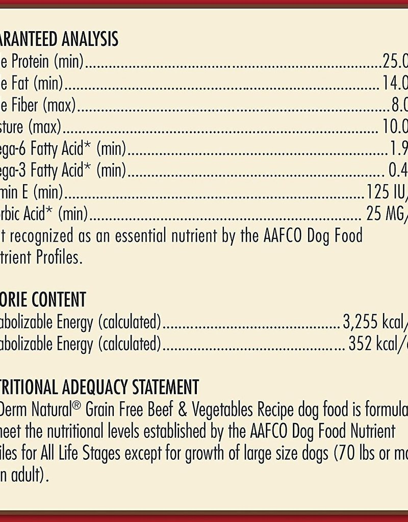AvoDerm by Breeder's Choice AvoDerm Dog Dry GF Beef and Vegetables