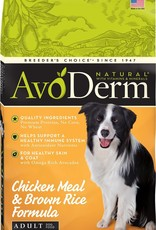 AvoDerm by Breeder's Choice AvoDerm Dog Dry Chicken and Rice