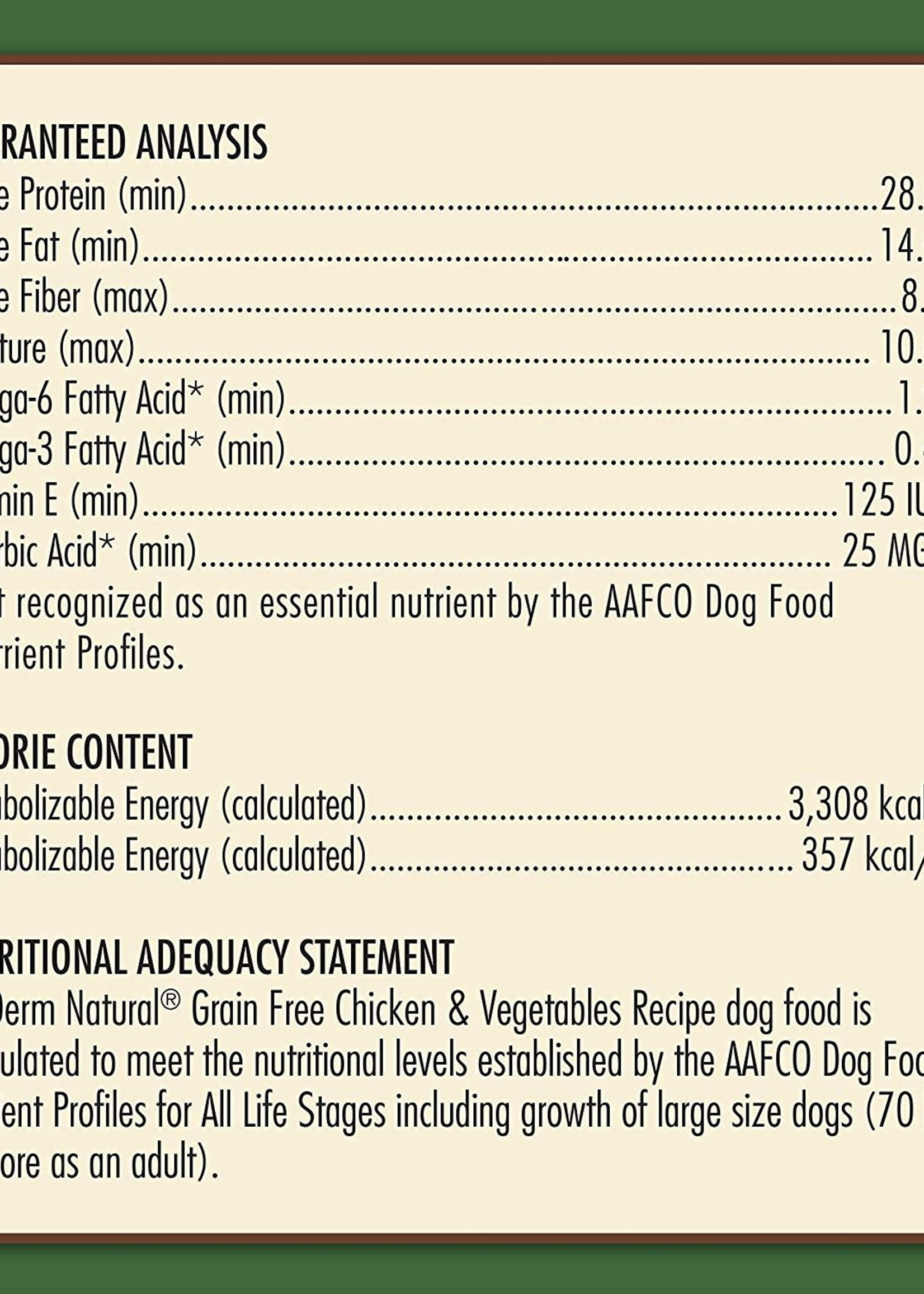 AvoDerm by Breeder's Choice AvoDerm Dog Dry GF Chicken and Vegetable