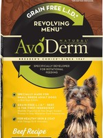 AvoDerm by Breeder's Choice AvoDerm Dog Dry GF Revolving Beef Small Breed