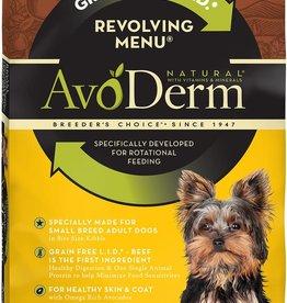 Breeder's Choice Pet Foods, Inc. AvoDerm Dog Dry GF Revolving Beef Small Breed