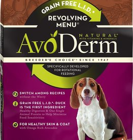 AvoDerm by Breeder's Choice AvoDerm Dog Dry Revolving Duck