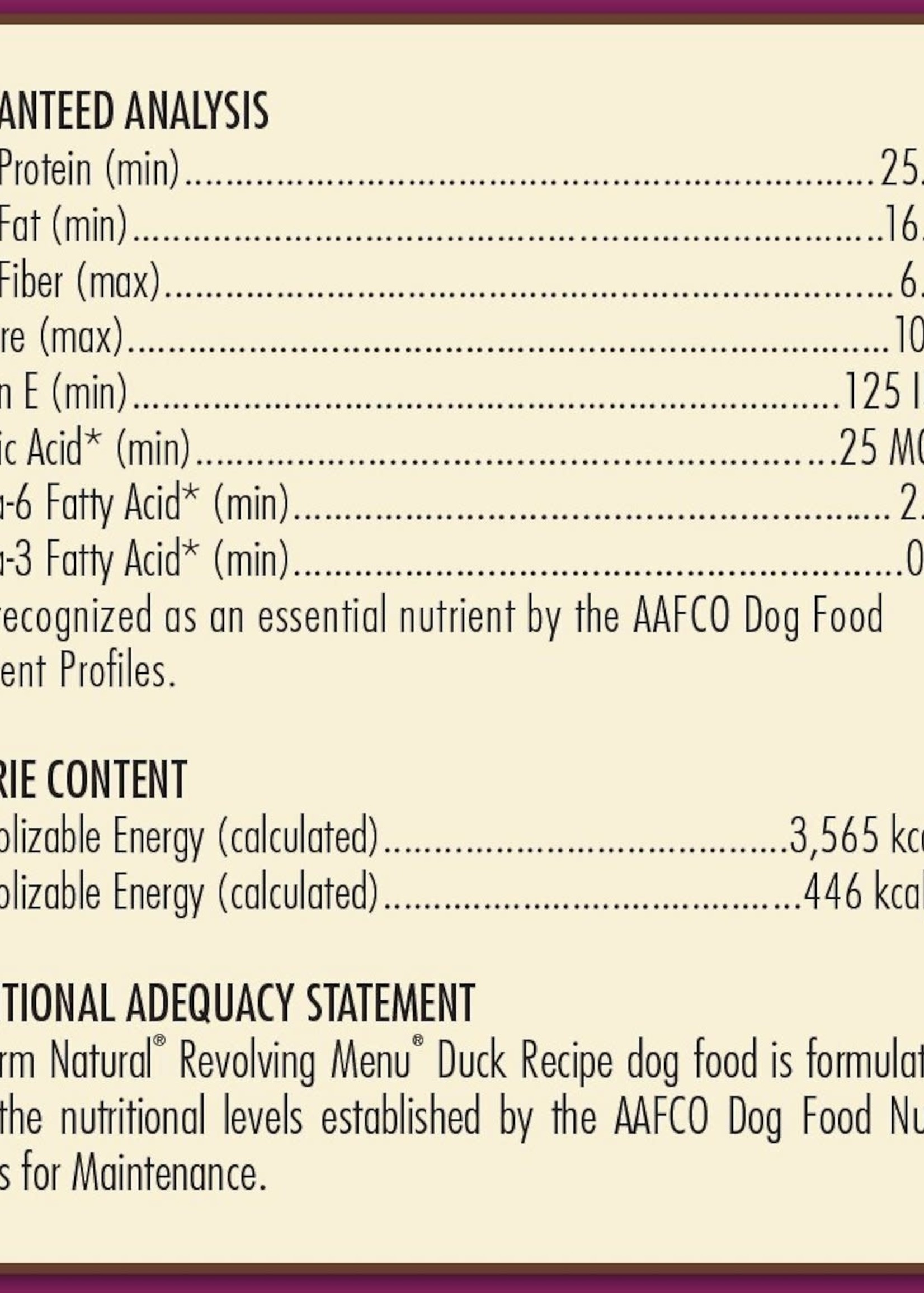AvoDerm by Breeder's Choice AvoDerm Dog Dry Revolving Duck