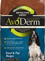AvoDerm by Breeder's Choice AvoDerm Dog Dry Revolving Trout and Pea