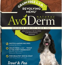 Breeder's Choice Pet Foods, Inc. AvoDerm Dog Dry Revolving Trout and Pea