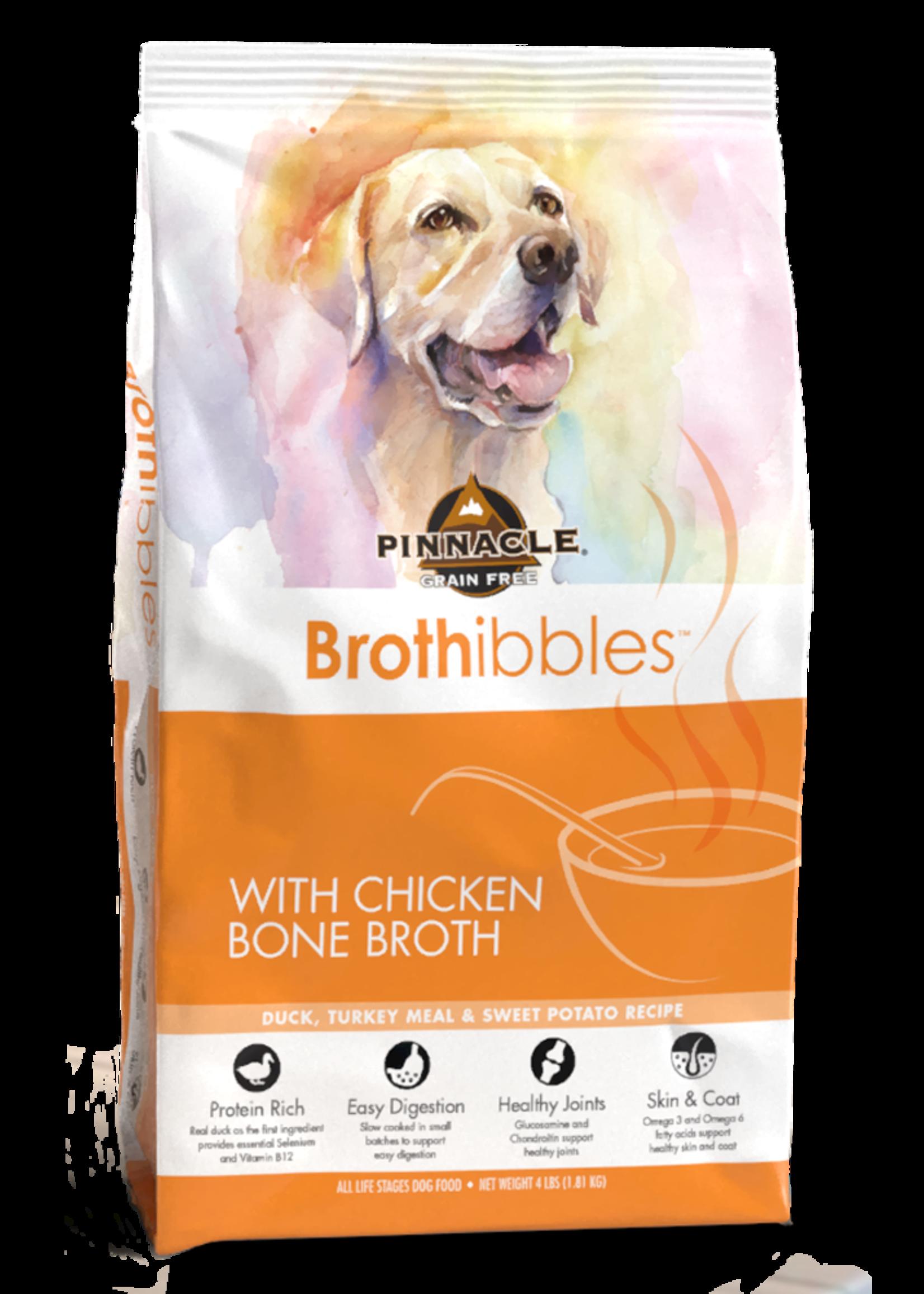 Pinnacle by Breeder's Choice Pinnacle Dog Dry Brothibbles Duck, Turkey, and Sweet Potato